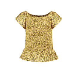 Like Flo Like Flo Girls AO Woven Smock Top Panther