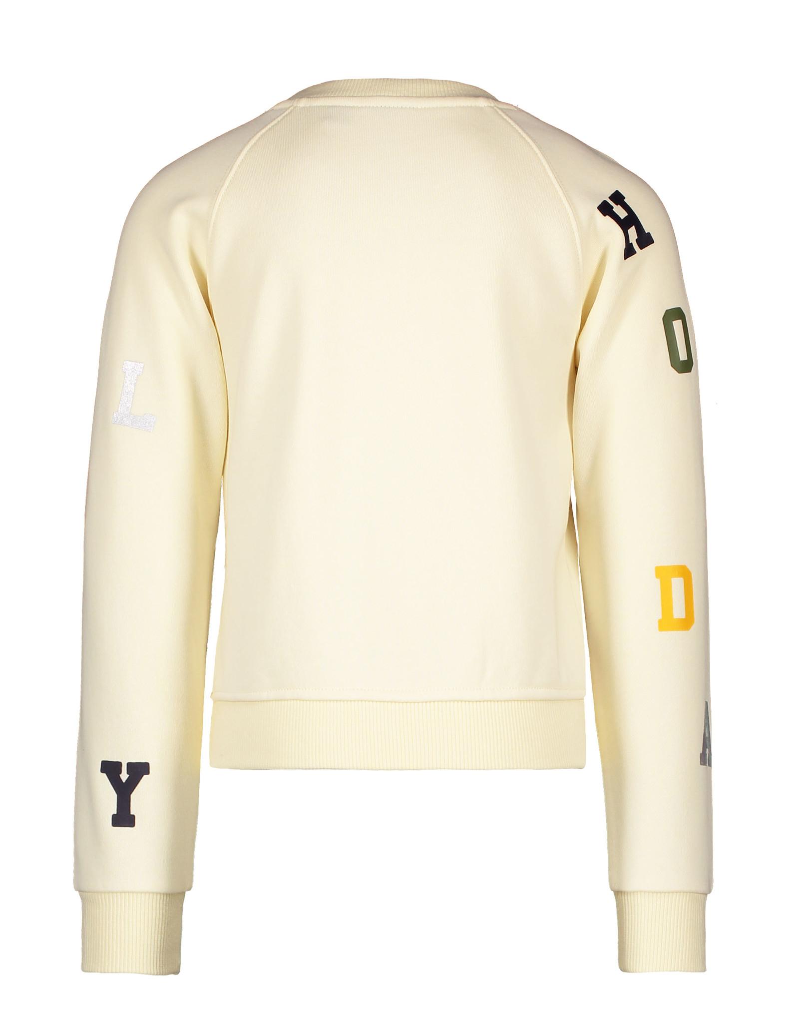 Like Flo Like Flo Girls LS Sweater Cream