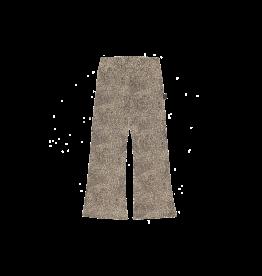 House of Jamie HOJ Flared Pants Charcoal Little Leopard