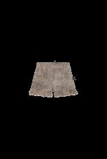 House of Jamie HOJ Ruffled Shorts Charcoal Little Leopard