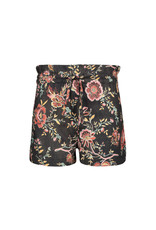 Street Called Madison SCM  Luna Tencell Flower short Lulu Black