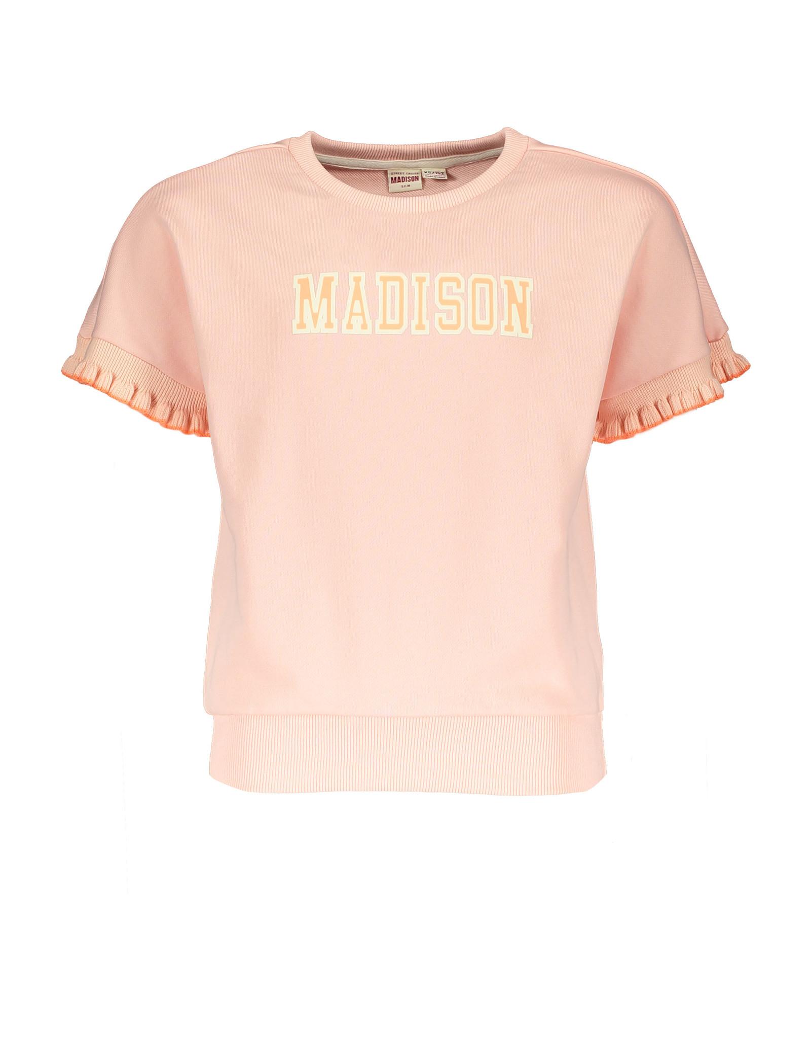 Street Called Madison SCM Luna Sweat Top Ruffle Rib Luna PI
