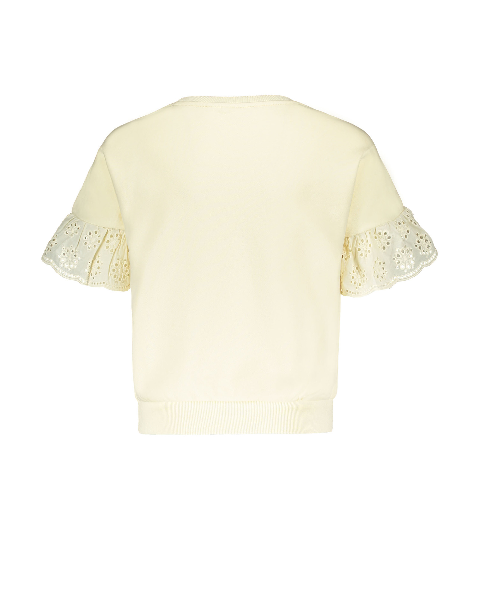 Street Called Madison SCM Luna Fancy short sleeve Top Yes Luna Off White