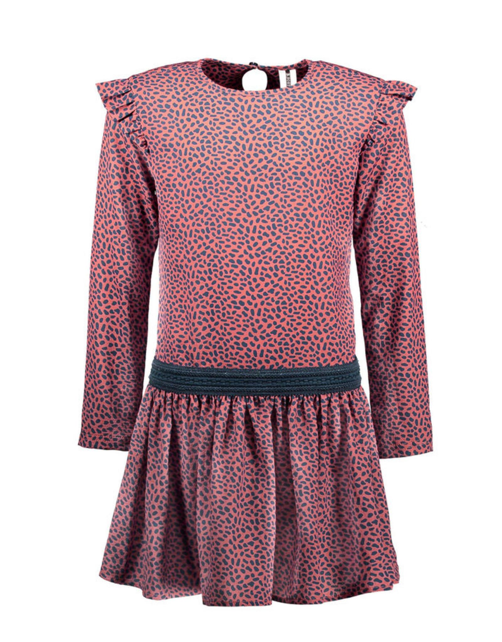 B.Nosy B.Nosy Girls Woven Dress Mix Dots all over print