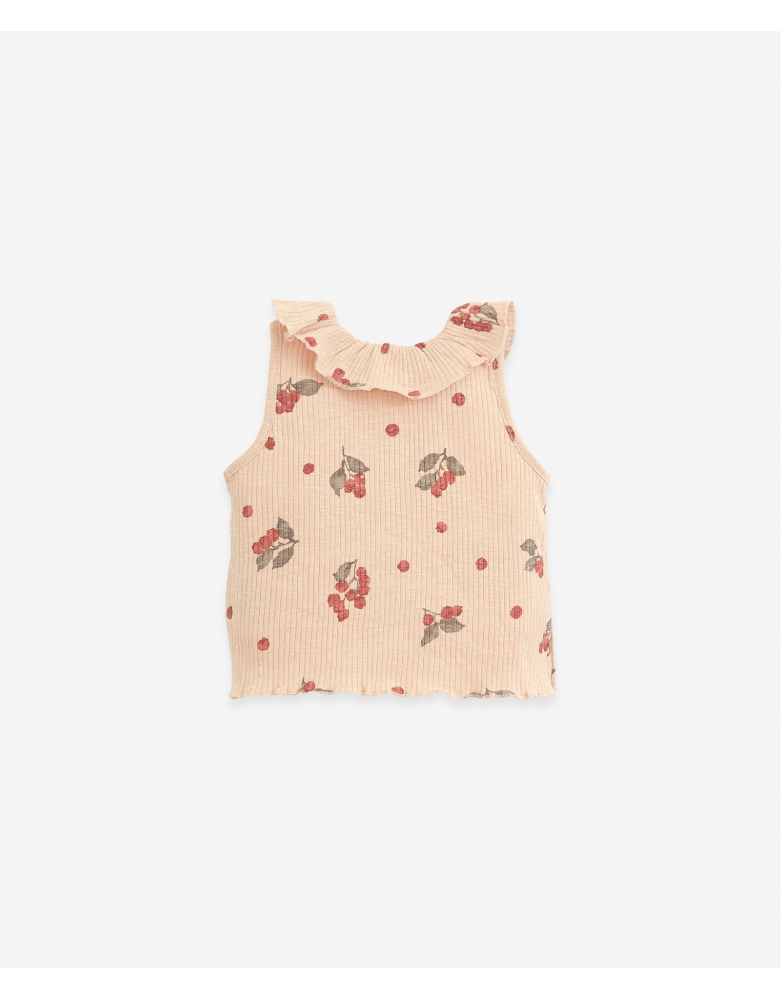 Play Up Play Up Organic Cotton Sleeveless T-shirt Egg