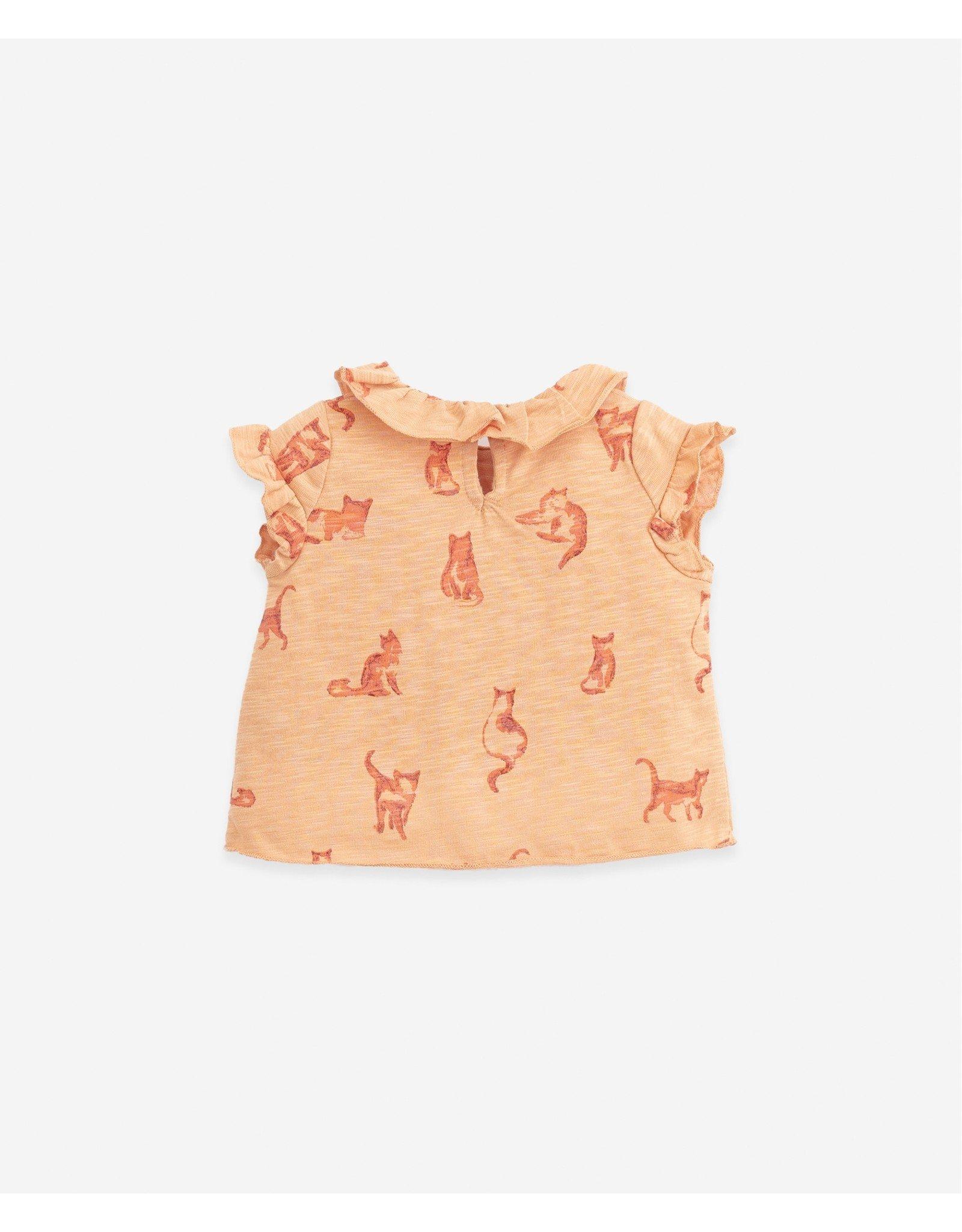 Play Up Play Up T-shirt With Cats Print Teresa