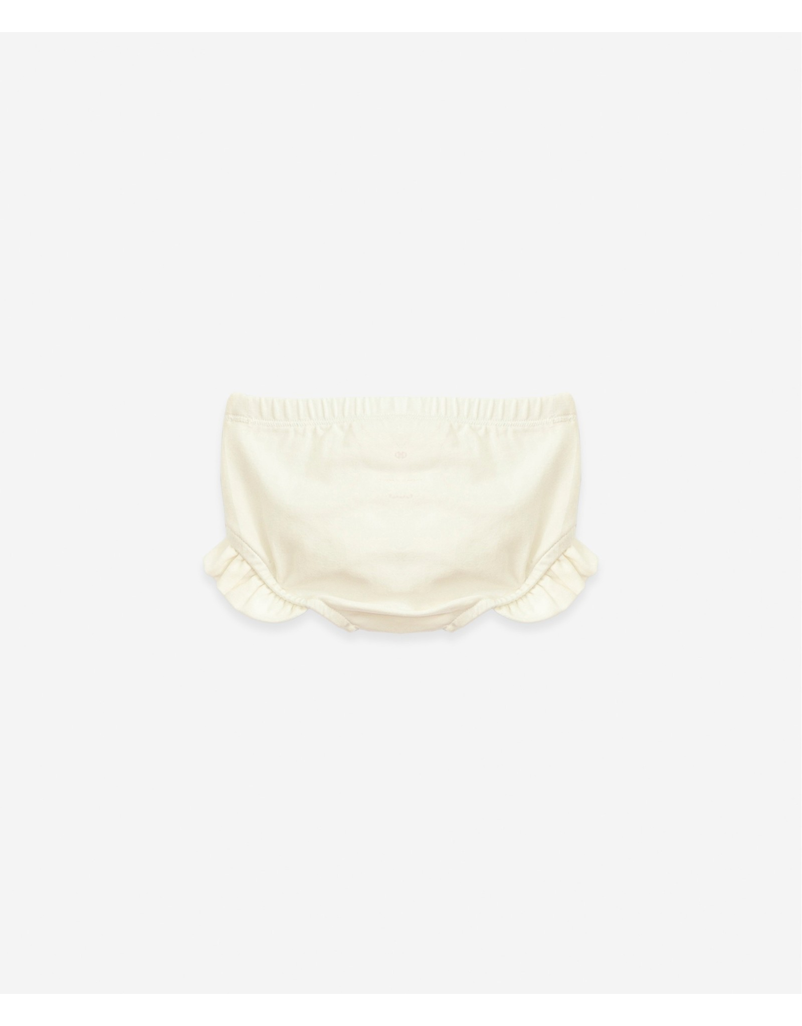 Play Up Play Up Organic Cotton Underpants With Frill Windflower