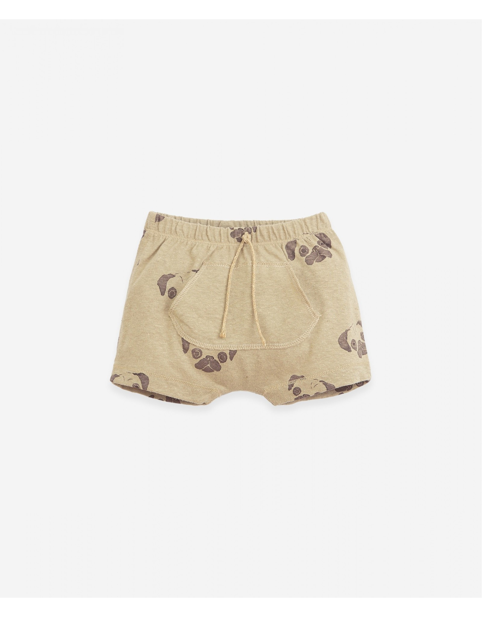 Play Up Play Up Shorts In Organic Cotton And Linen Joao