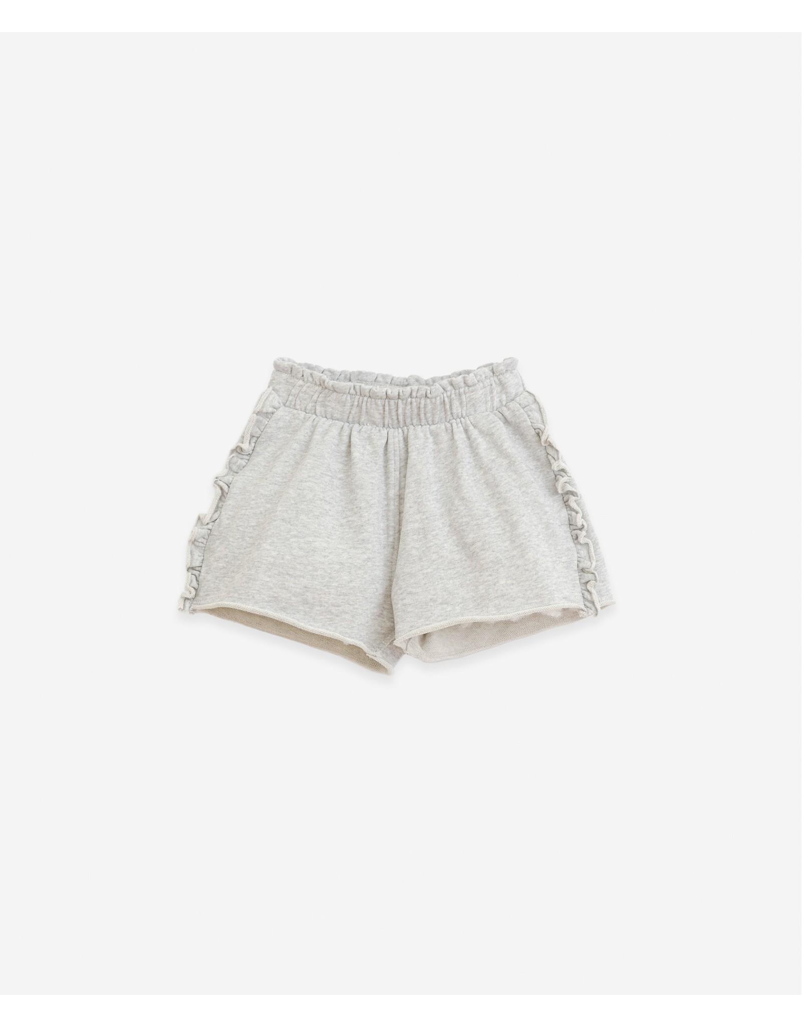 Play Up Play Up Jersey Stitch shorts with frills Botany Grey Melange