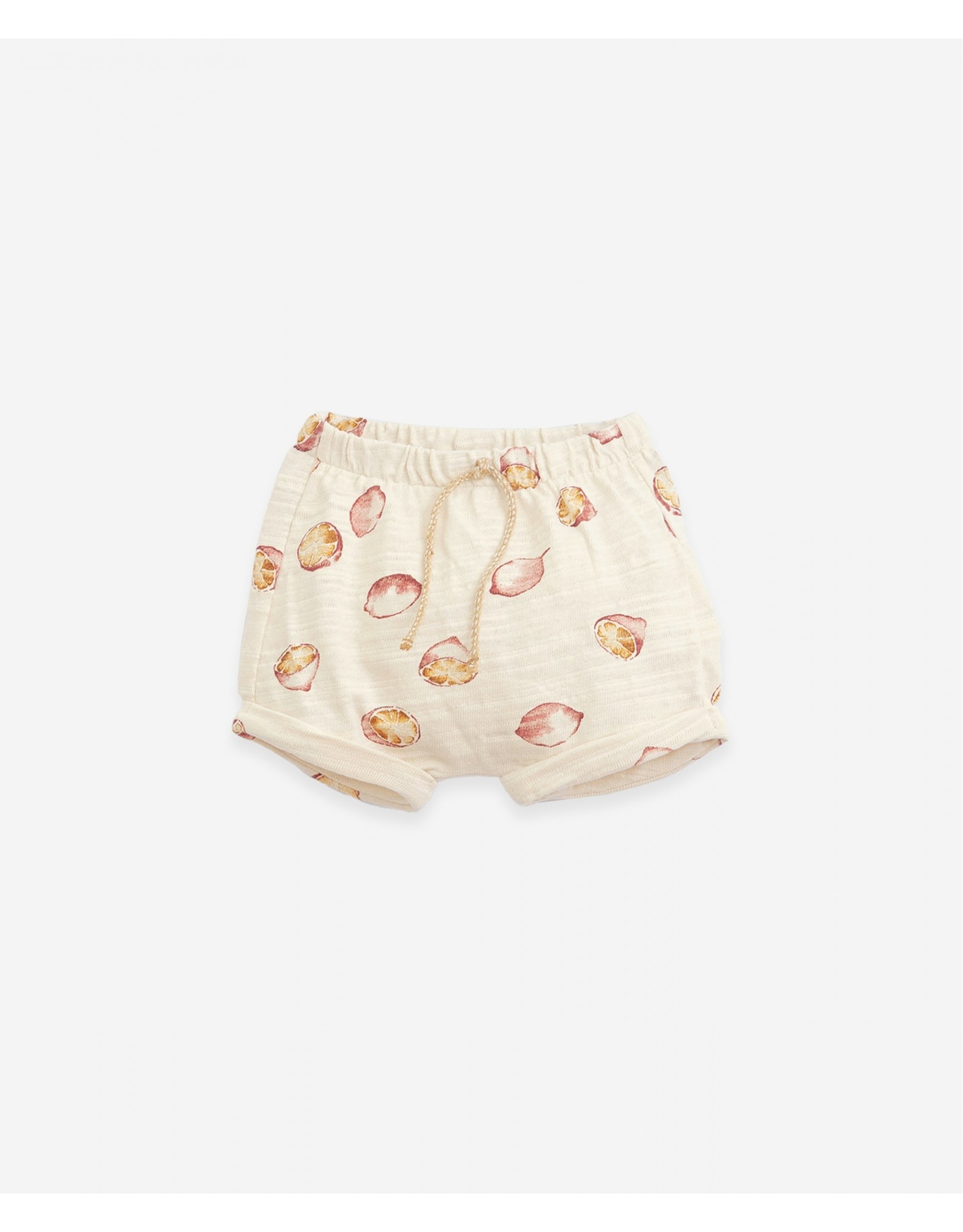 Play Up Play Up Shorts with pleats Botany Dandelion