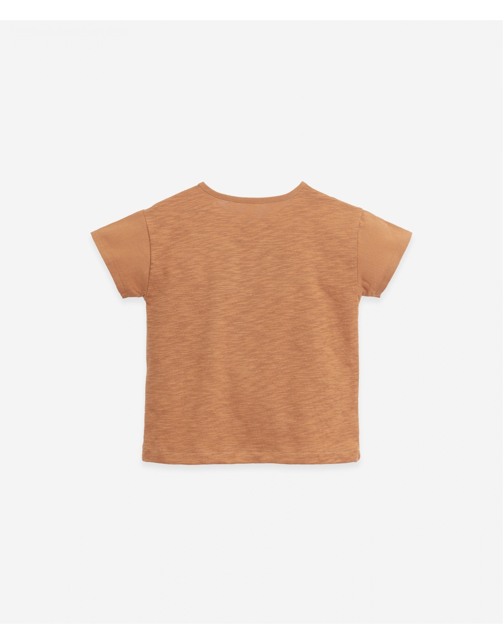 Play Up Play Up T-shirt with Buttons Botany Raquel