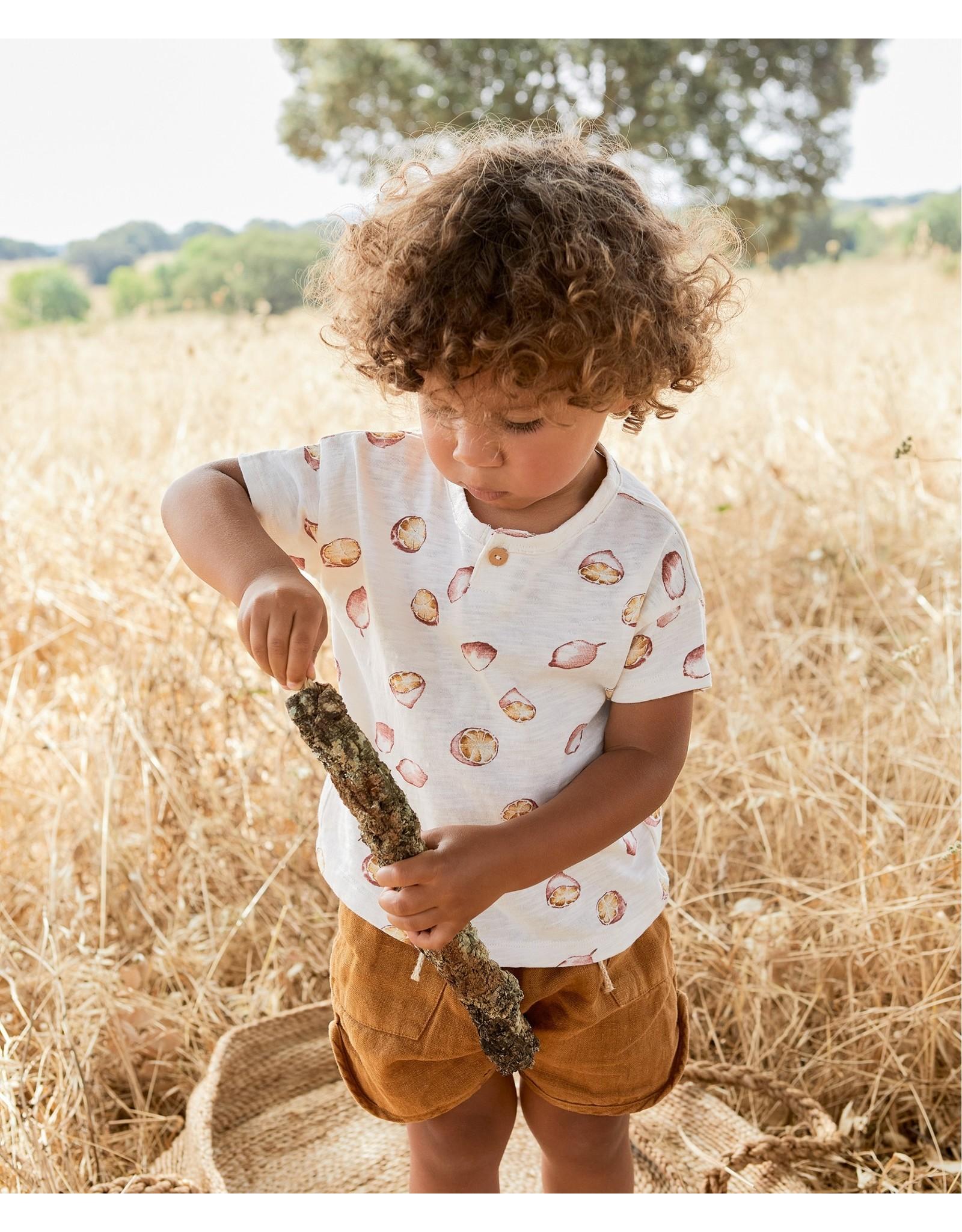 Play Up T-shirt with Lemons print Botany Dandelion