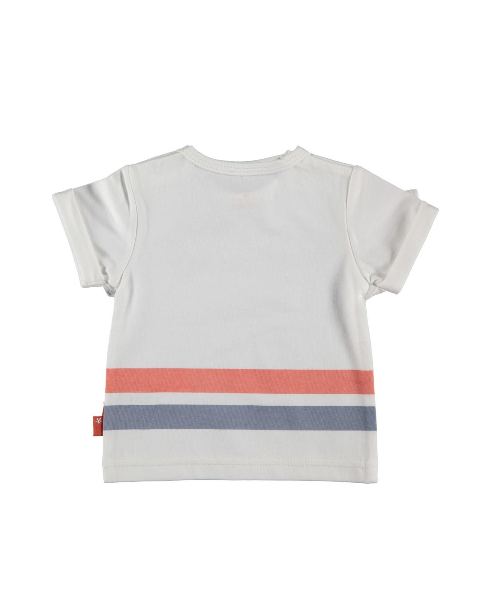 BESS Bess Shirt Sh.Sl. Friend White