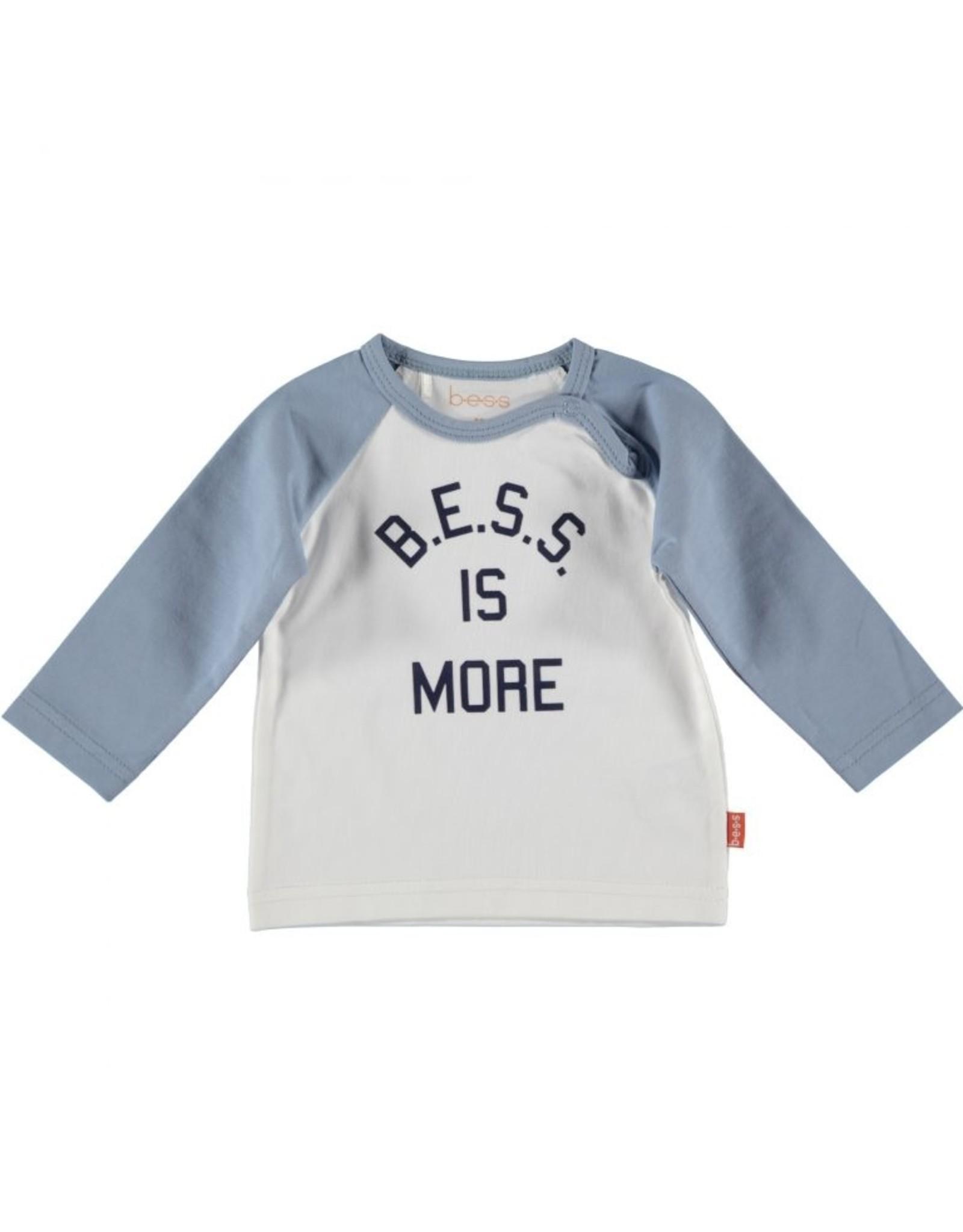 BESS Bess Shirt L. Sl. Bess Is More White