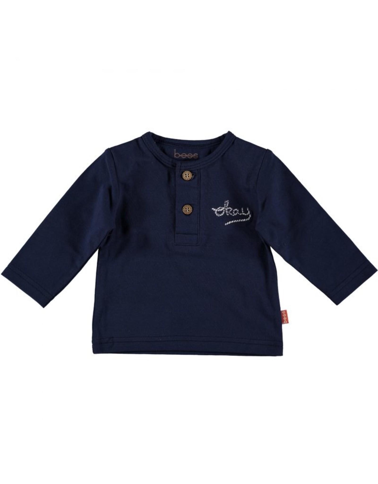 BESS Bess Shirt L. Sl. Okay Blue