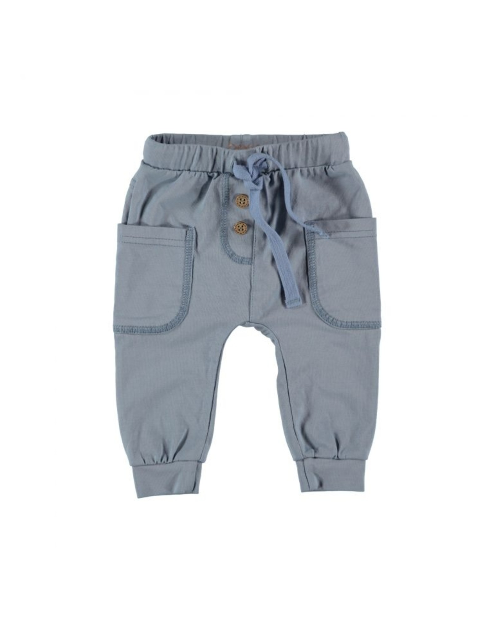 BESS Bess Pants With Pockets Lightblue