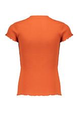 NoBell Nobell Kima Rib Jersey T Shirt Ginger