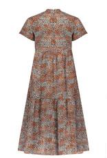NoBell Nobell Mian Maxi Dress Leopard AOP Ginger