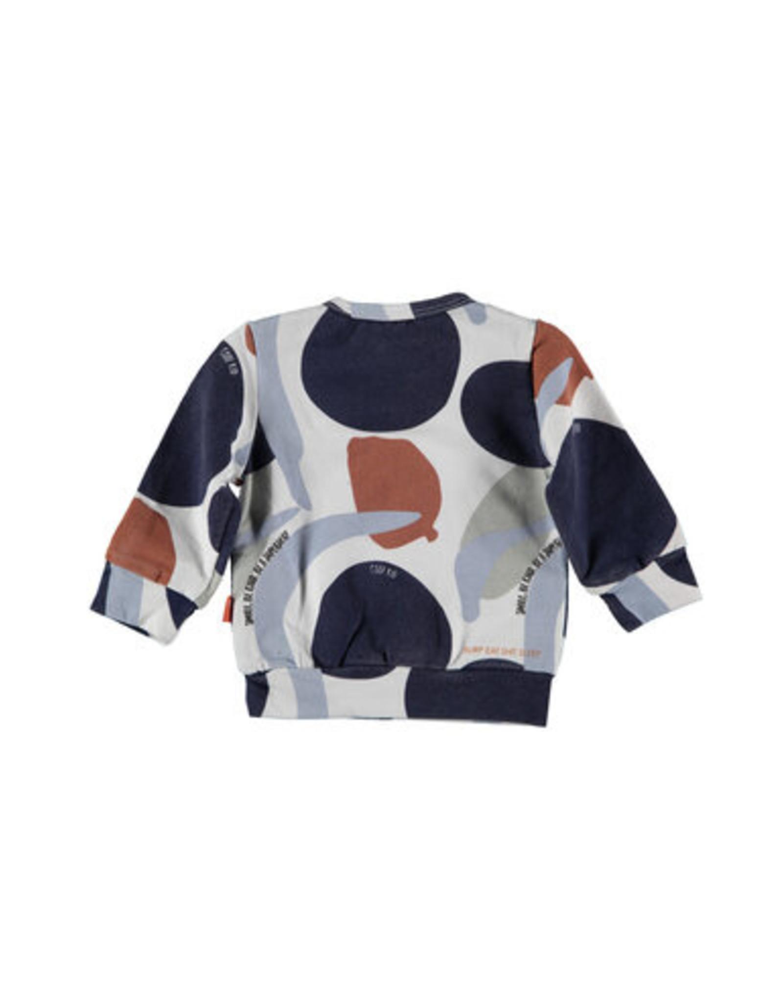 BESS Bess Sweater AOP Camouflage Dessin
