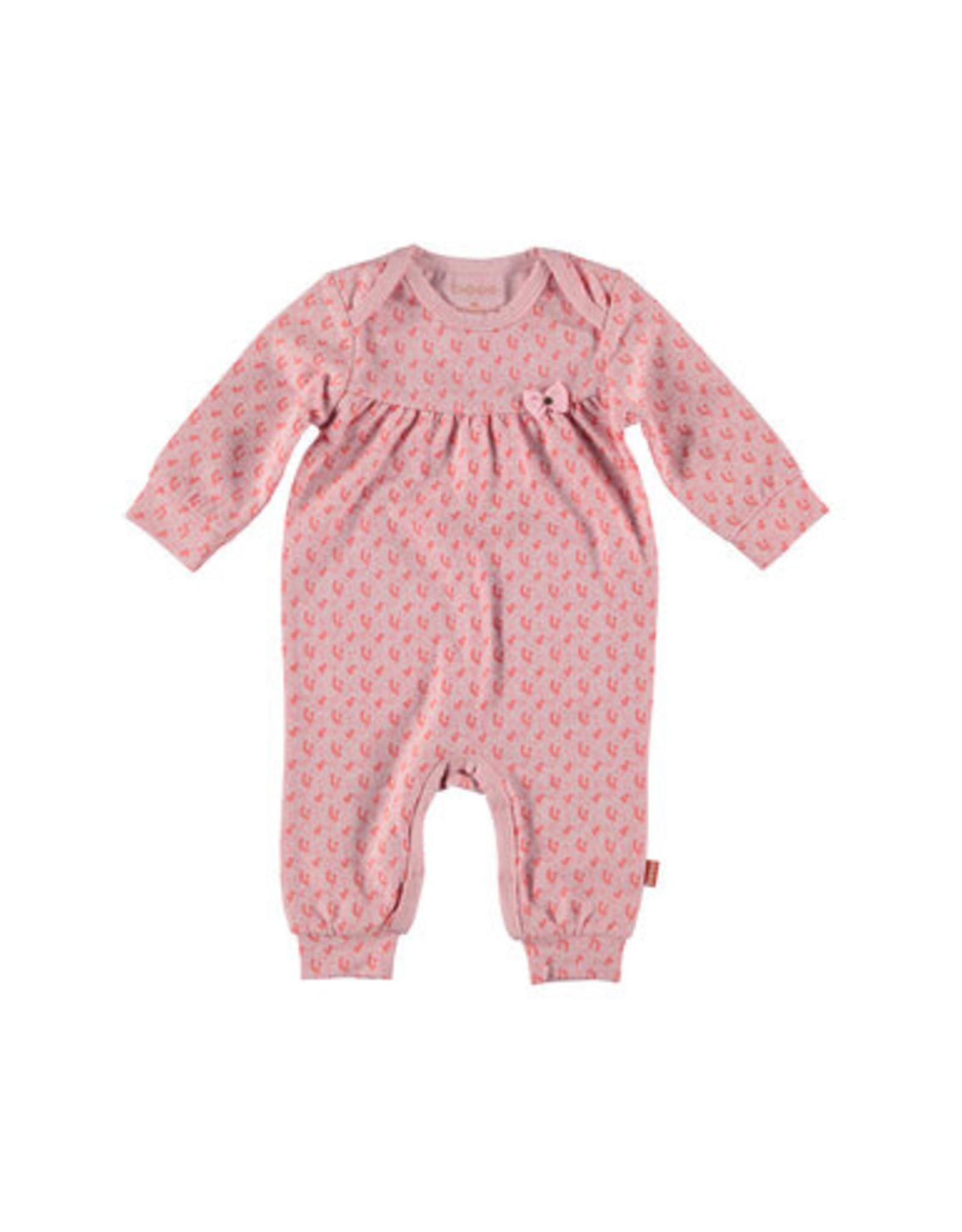 BESS Bess Suit AOP Flower Pink