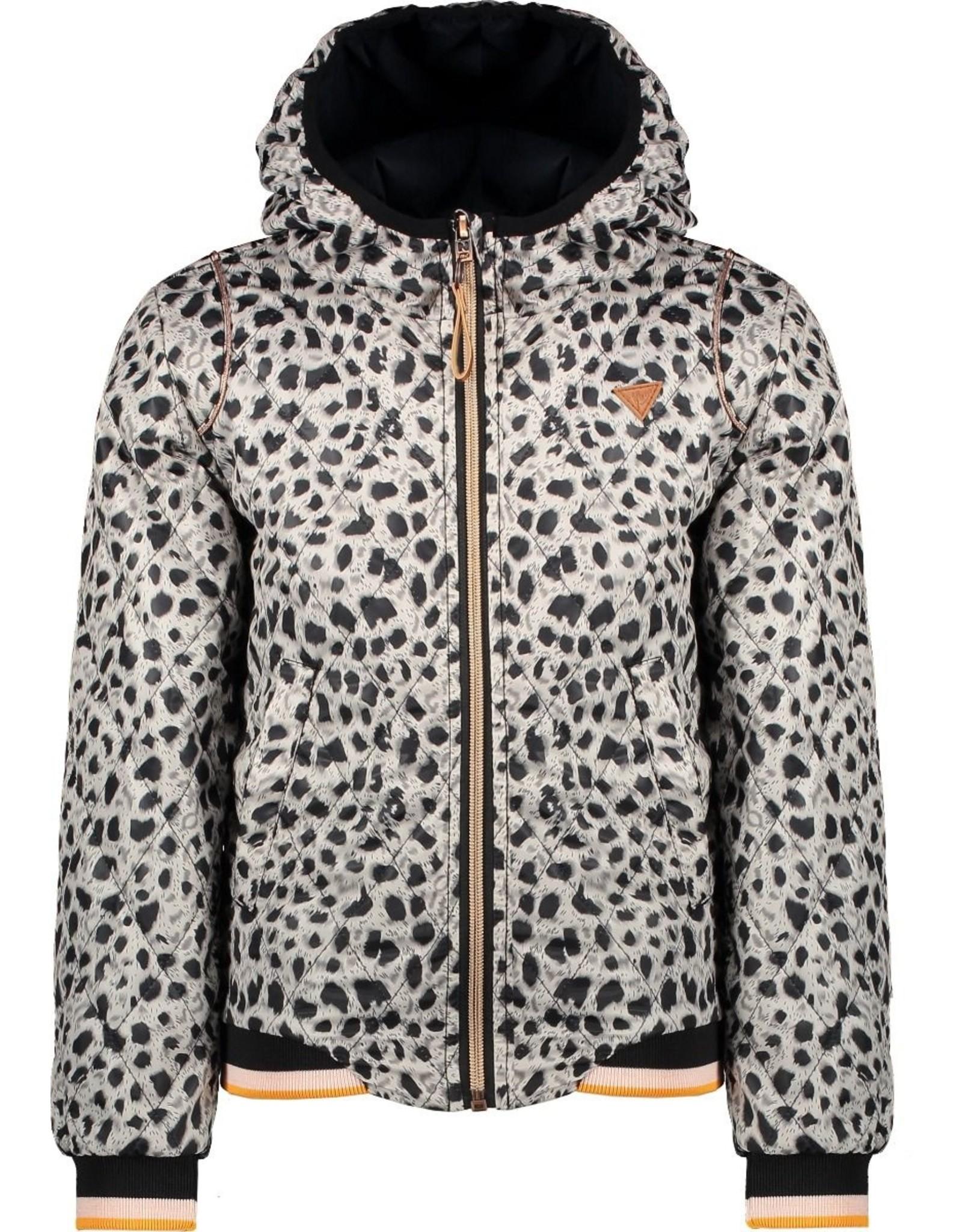 NONO NoNo Billy Hooded Summer Jacket Antracite