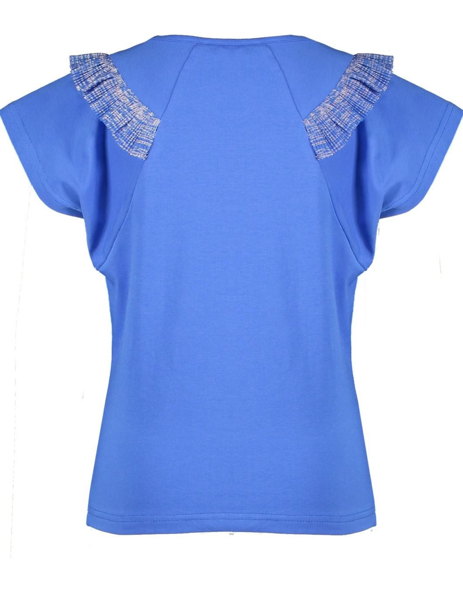 NONO NoNo  Kate T-Shirt Fancy Frill Light Porcelaine
