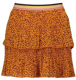 NONO NoNo NikkieB Short Skirt AOP Blazing Orange