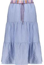 NONO NoNo Nael Maxi Woven Skirt Bright Sky