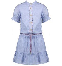 NONO NoNo Miro Hald Sleeve Dress Bright Sky