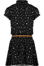 NONO NoNo Maui Capsleeved Little Black Dress Antracite