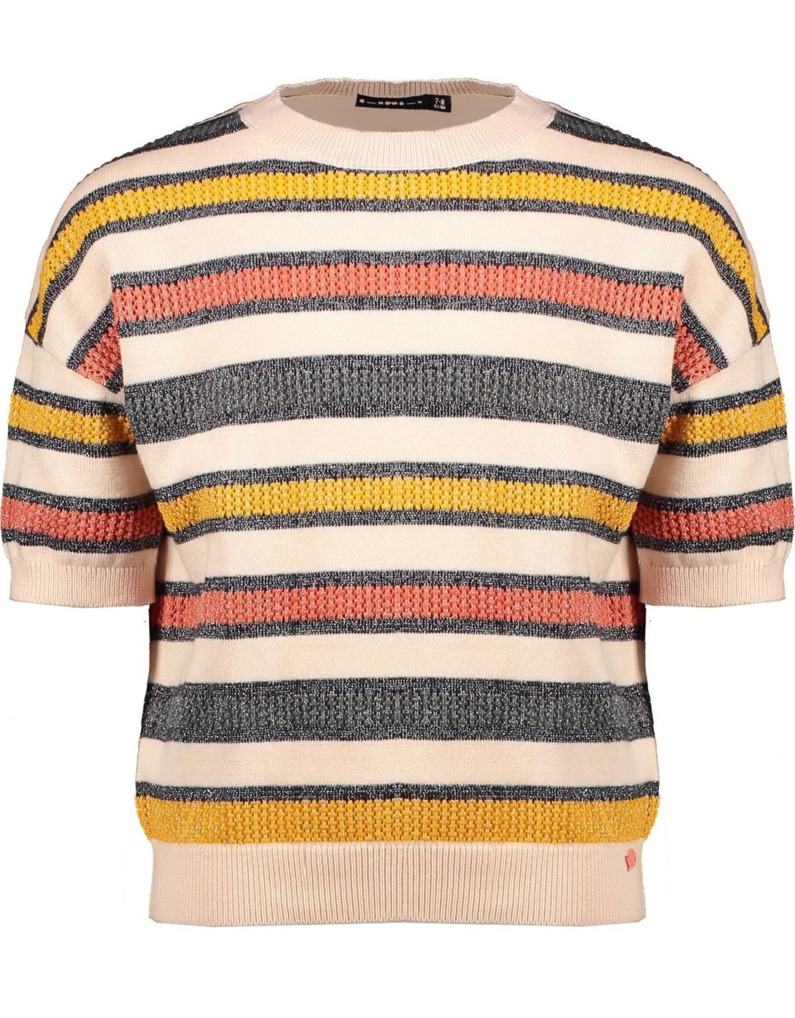 NONO NoNo Kess Knitted Pullover Seashell Pink