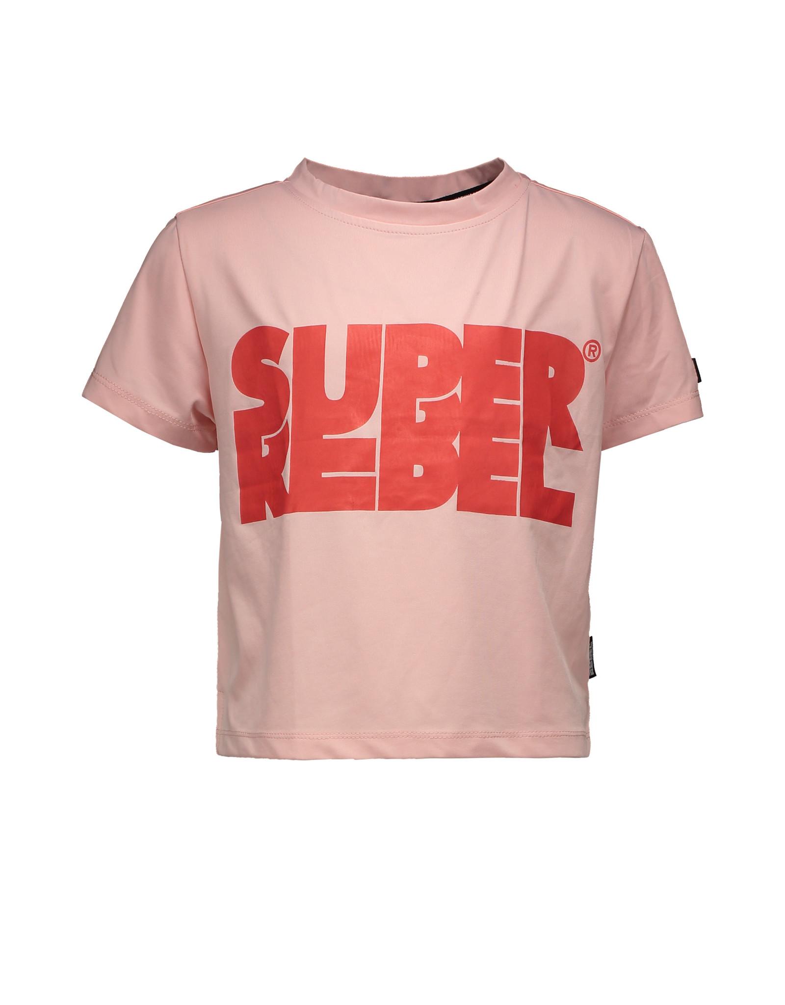Super Rebel SuperRebel T-shirt short Light Pink