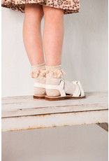 House of Jamie HOJ Ankle Socks Pelerine Oatmeal & Lace