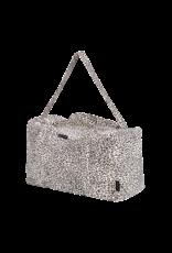 House of Jamie HOJ Weekend Bag Snow Leopard Velvet