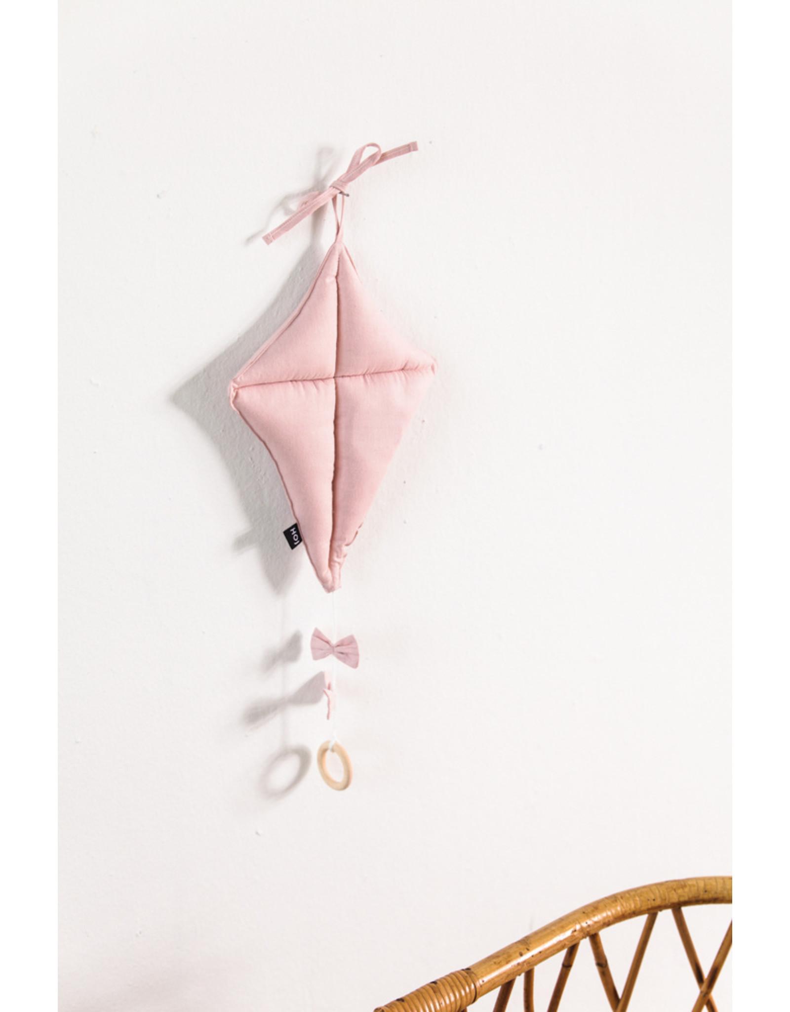 House of Jamie HOJ Music Box Kite Powder Pink