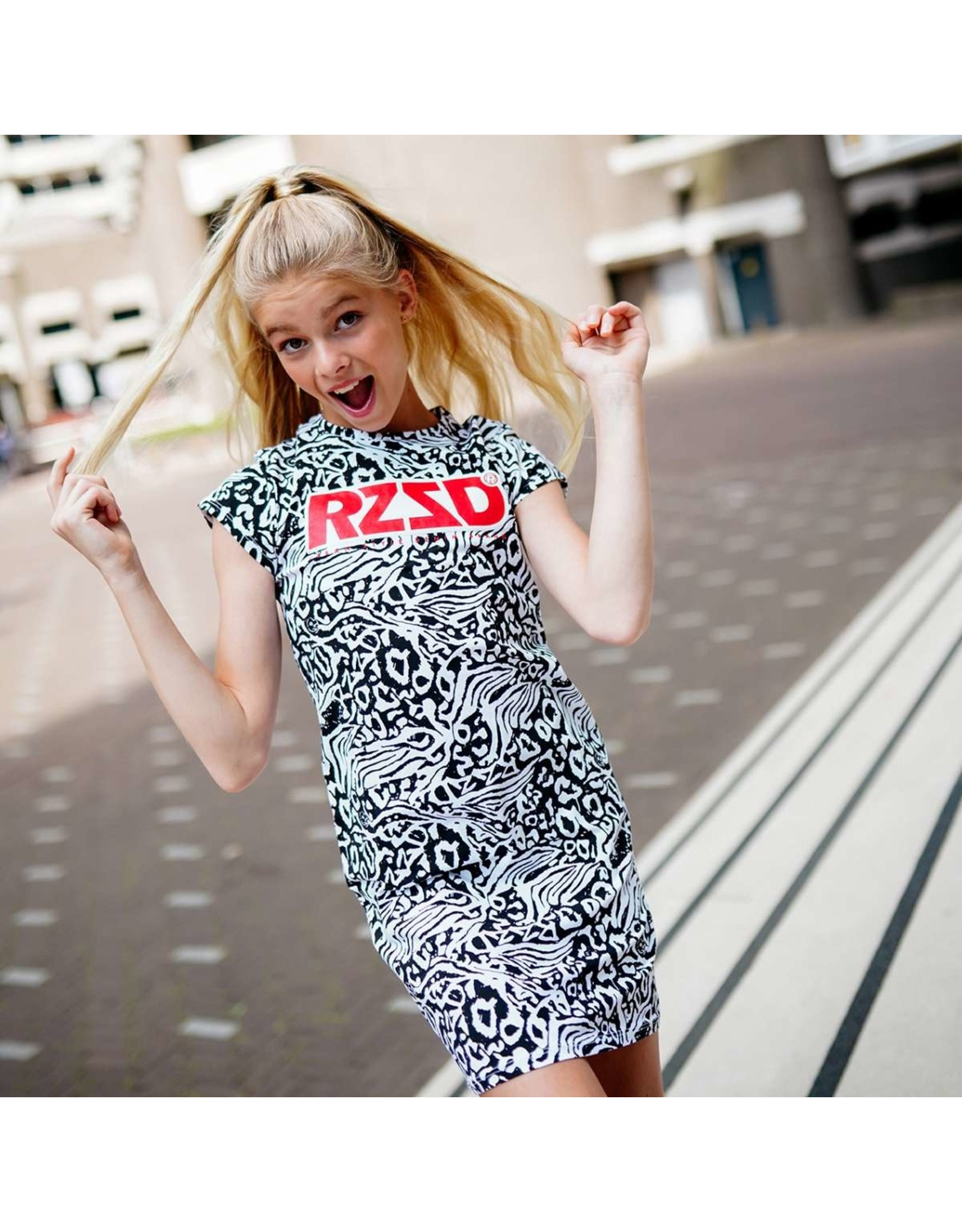 Raizzed Raizzed Malaga Mini Dress Real White