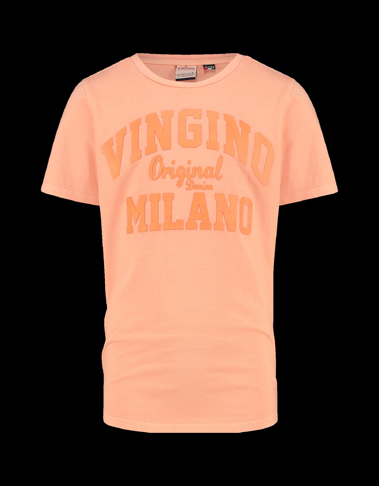 Vingino Vingino B-Logo-Tee-GD-RNSS Neon Orange