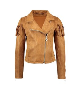 B.Nosy B.Nosy Suede Bikerjacket Pale Brown