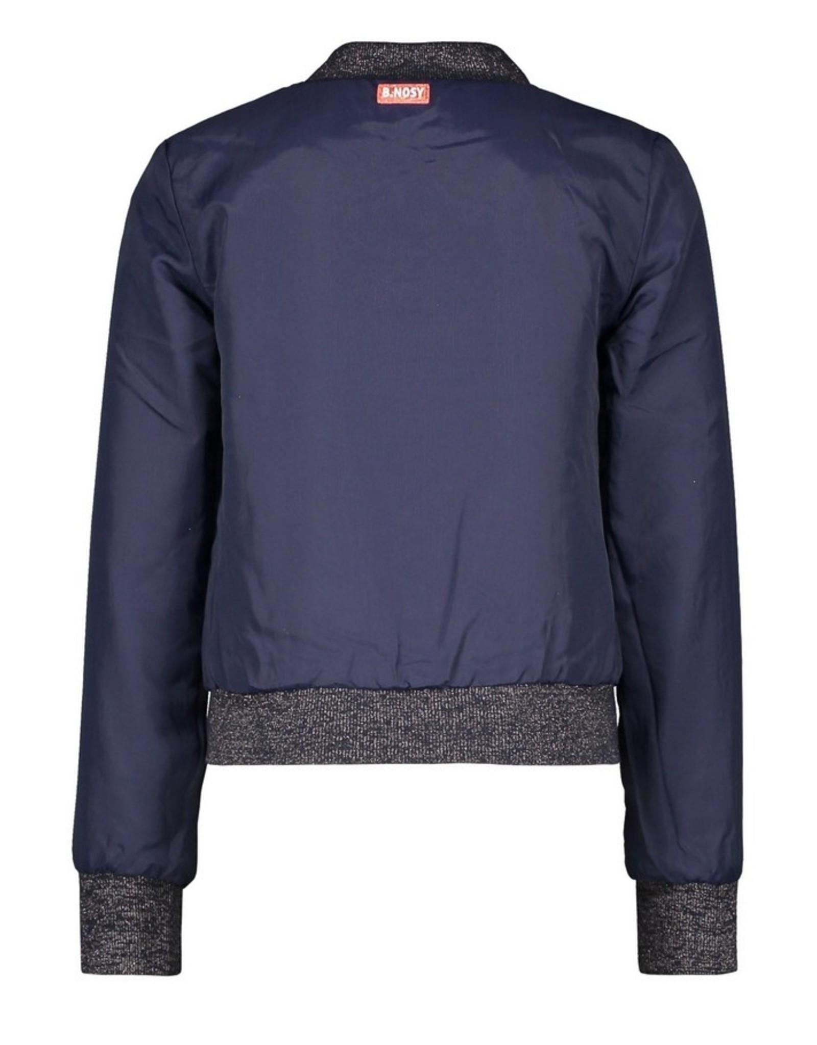 B.Nosy B.Nosy Girls Reversible Jacket Pewter