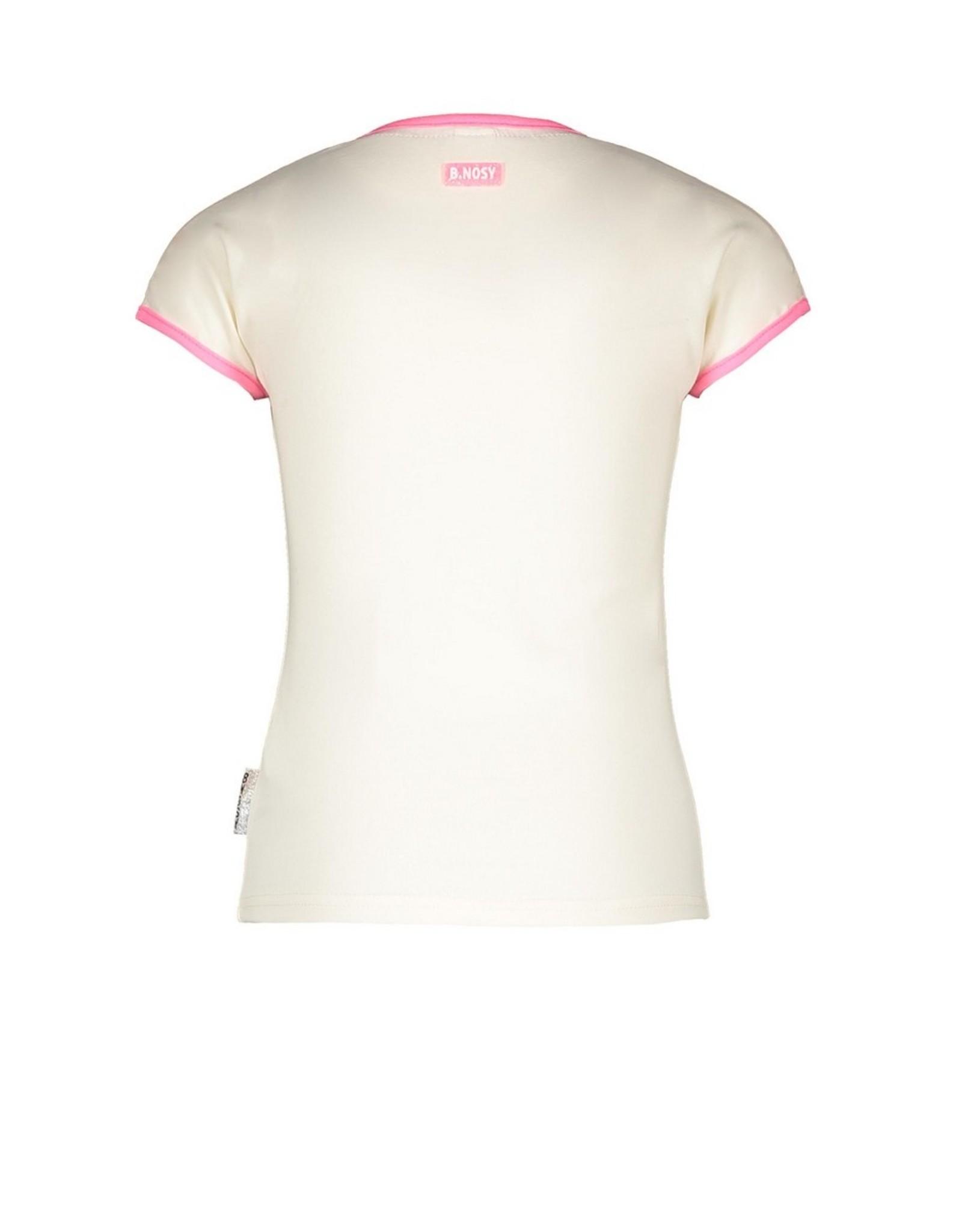 B.Nosy B.Nosy Girls T-shirt With Fancy Artwork Cotton