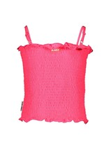 B.Nosy B.Nosy Girls Smocked Top Knock Out Pink