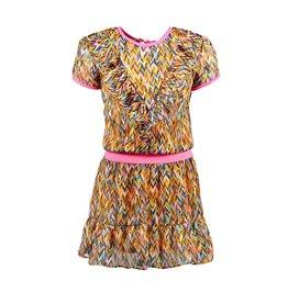 B.Nosy B.Nosy Girls Curious AOP Dress