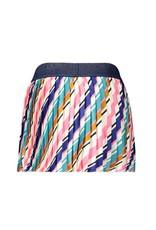 B.Nosy B.Nosy Girls Satin Skirt With Slanted Stripe