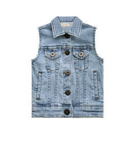 Your Wishes Your Wishes Denim Gilet