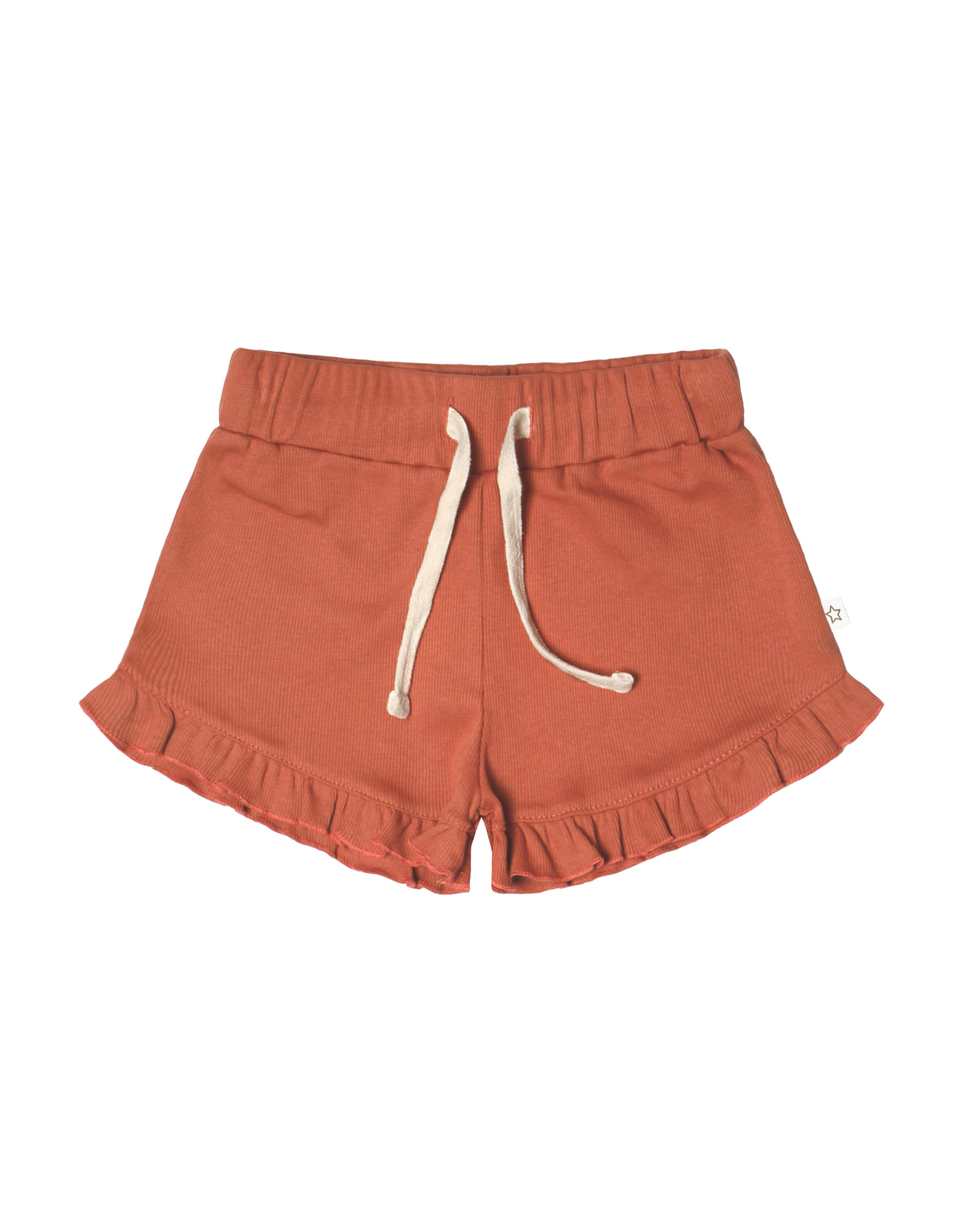Your Wishes Your Wishes Rib Terra Ruffle Shorts