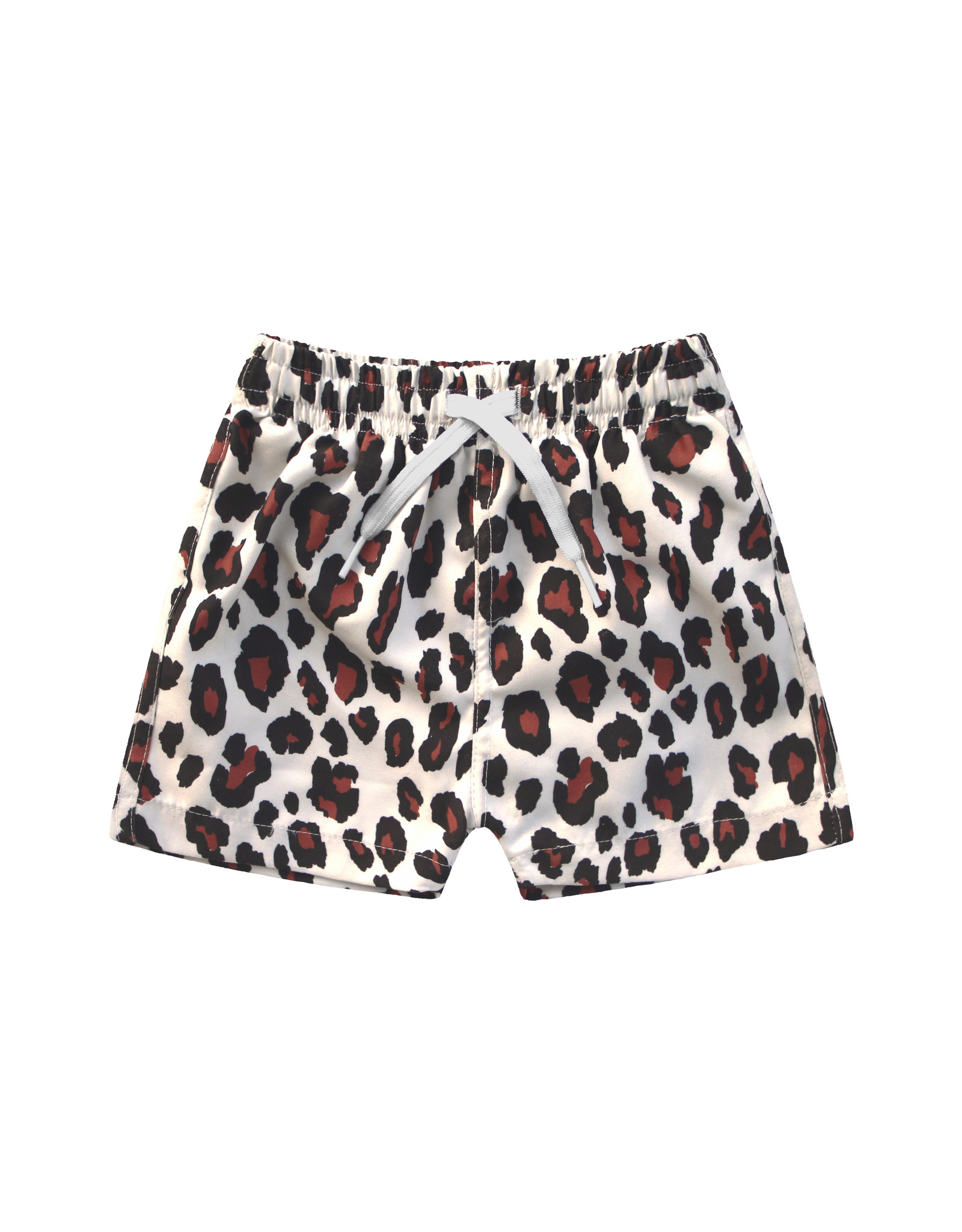 Your Wishes Your Wishes Leopard Swim Shorts Terra