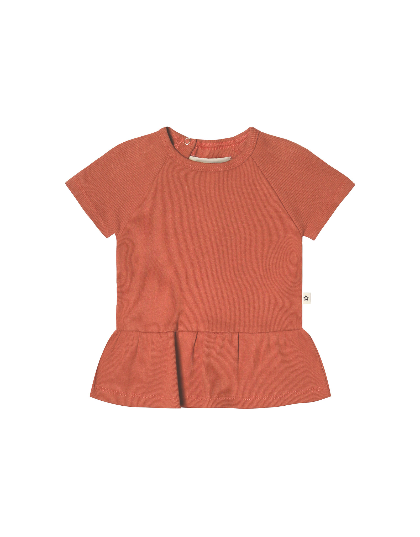 Your Wishes Your Wishes Rib Terra SS Shift Top