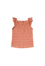 Your Wishes Your Wishes Broderie Terra Ruffle Singlet
