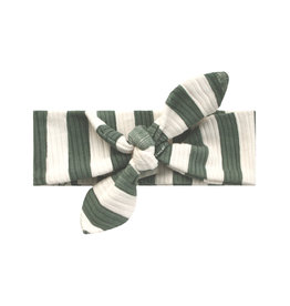 Your Wishes Your Wishes Bold Stripes Headband Old Green