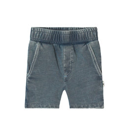 Your Wishes Your Wishes Knitted Denim Long Short Blue